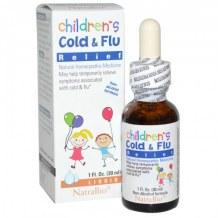 Thuốc Siro Cảm Cúm Children Cold & Flu Relief Natrabio