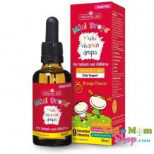 Vitamin Tổng Hợp Multi Vitamin Drop Natures Aid