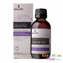 Siro Trị Cảm Cúm Brauer Baby And Child Cold And Flu
