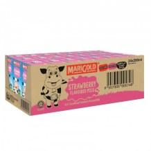 Sữa Tươi Hương Dâu Marigold Thùng 24 Hộp