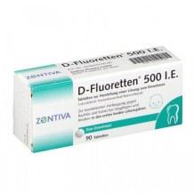 Vitamin D Fluoretten Xách Tay Đức - Bổ Sung D3 Cho Bé (Mẫu Mới)
