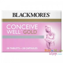 Blackmores Conceive Well Gold Vitamin Tăng Khả Năng Thụ Thai