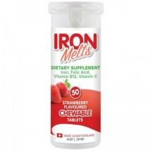 Iron Melts - Viên Bổ Sung Sắt Acid Folic Vitamin B12 Và Vitamin C