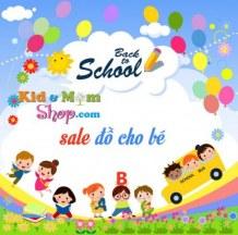 Back to School giảm giá đồ cho bé