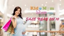 Khuyến mại nhân dịp 20-10 giảm giá các sản phẩm cho mẹ