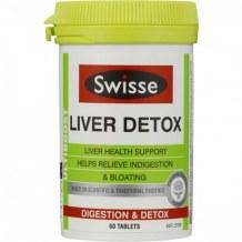 Viên uống bổ gan và giải độc Swisse Liver Detox
