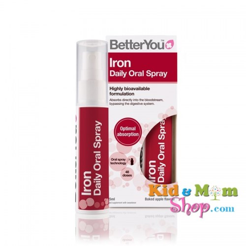 Bổ sung Sắt dạng xịt - Better You Iron Daily Oral Spray