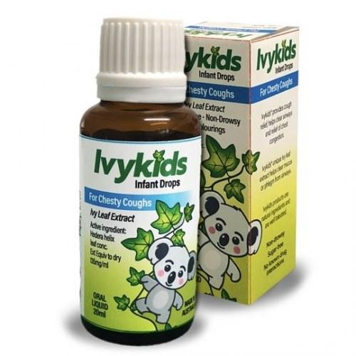 Ivy Kids Úc Tinh Chất Ho Trị Cho Trẻ Sơ Sinh Và Trẻ Nhỏ