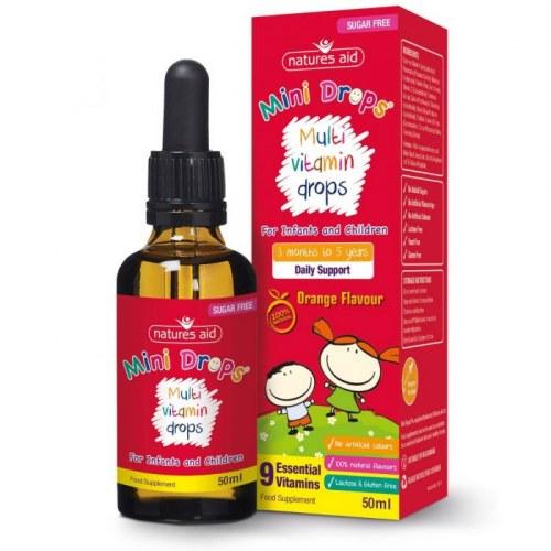 Vitamin Tổng Hợp Multi Vitamin Drop Natures Aid