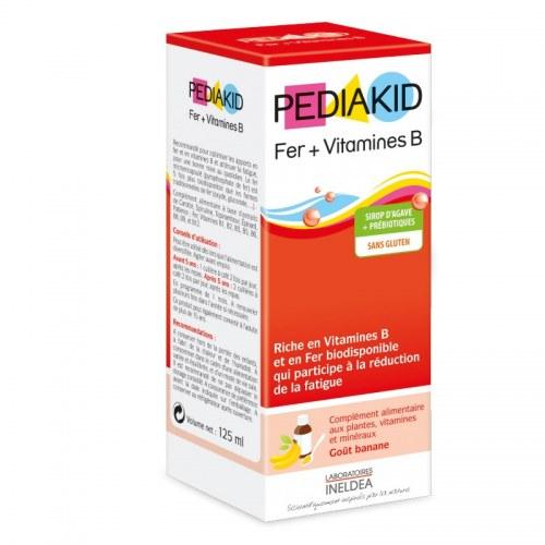 Pediakid Bổ Sung Sắt (Fer) Và Vitamin B Nội Địa Pháp