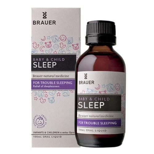 Siro Brauer Sleep Thảo Dược Giúp Bé Ngủ Ngon