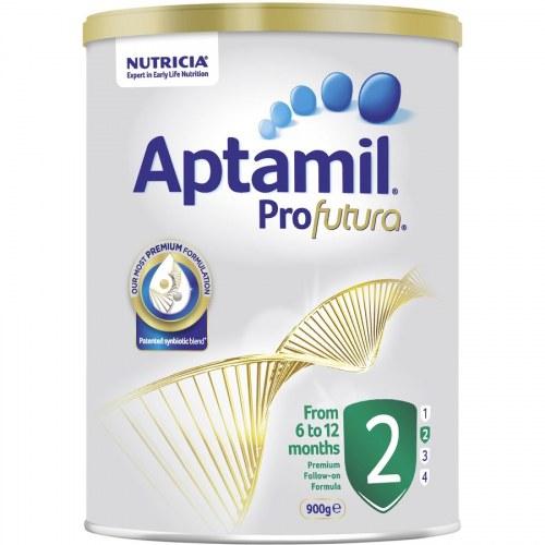 Sữa Aptamil Profutura 2 (Úc) (900g) (6-12 tháng tuổi) (mới)