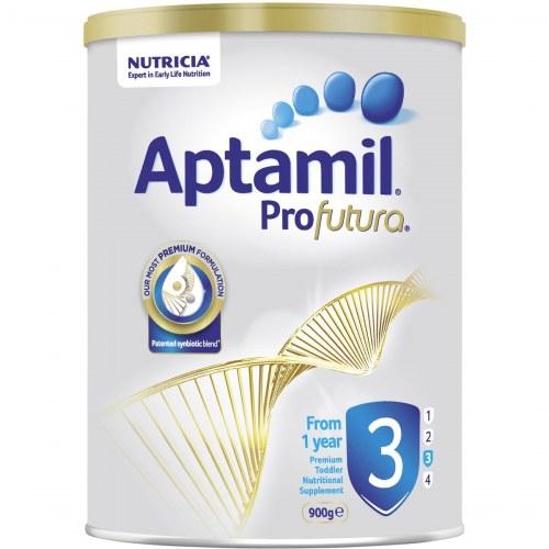 Sữa Aptamil Profutura 3 (Úc) (900g) (1-3 tuổi) (mới)