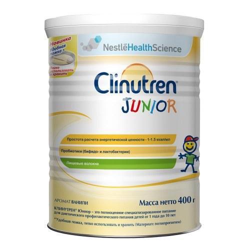 Sữa Béo Của Nga Clinutren Junior 400G Dành Cho Trẻ Từ 1-10 Tuổi