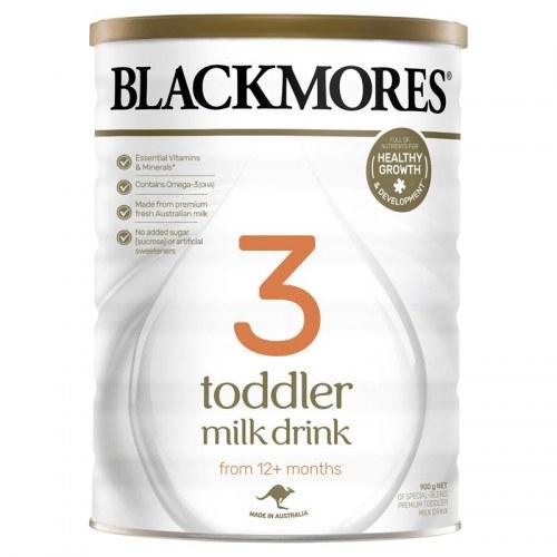 Sữa Bột Blackmores Số 3 900G Cho Bé Từ 12 Tháng Tuổi Trở Lên