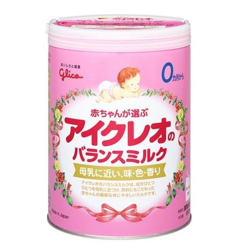 Sữa Bột Icreo Glico Nhật Bản Số 0 Cho Bé Từ 0 Đến 9 Tháng