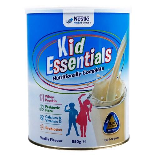 Sữa Kid Essentials Nestle Vị Vani 800g - Úc