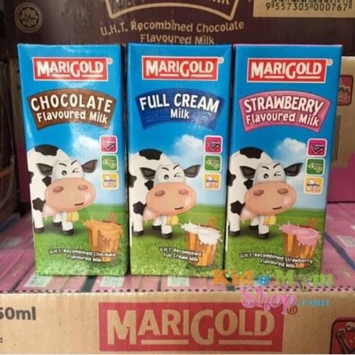 Sữa Tươi Marigold Có Bán Tại Kid And Mom ShopCòn Có Những Hương Vị Socola Hương Dâu Nguyên Kem