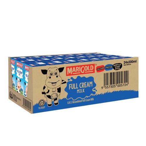 Sữa Tươi Nguyên Kem Marigold Thùng 24 Hộp