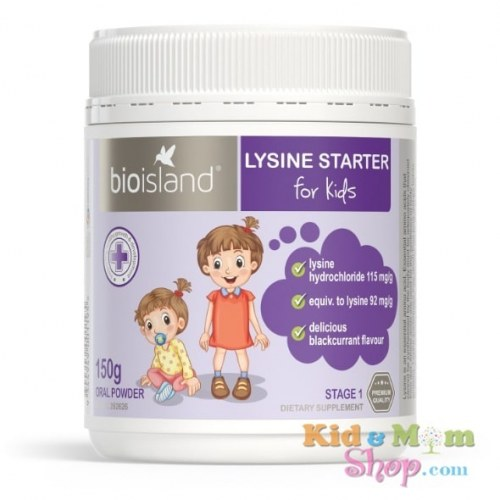Bột Tăng Chiều Cao Trẻ Em Bio Island Lysine Starter For Kids