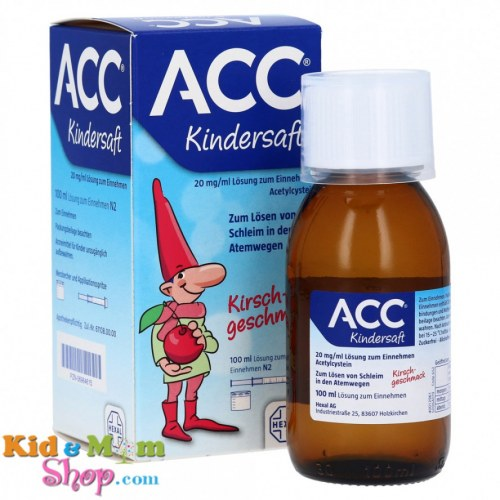 Siro Ho Long Đờm Acc Kindersaft 100Ml Của Đức