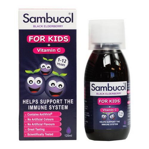 Vitamin Tăng Sức Đề Kháng Của Anh - Sambucol