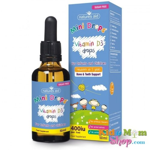 Vitamin D3 Drops Natures Aid