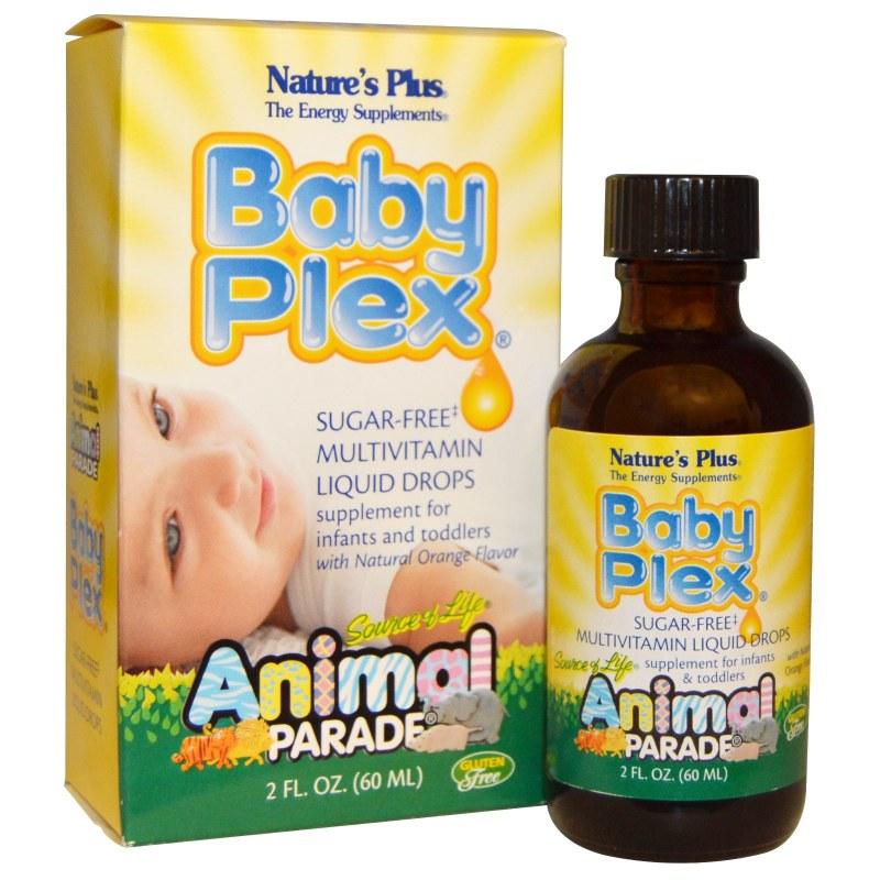 Vitamin Tổng Hợp Cho Trẻ Baby Plex Nature'S Plus