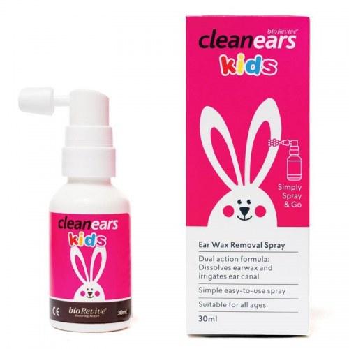 Xịt Tan Ráy Tai Cho Trẻ Clean Ears Kids