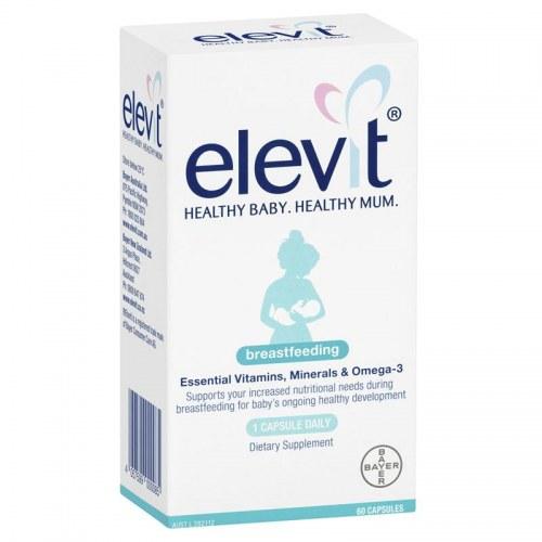 Elevit Breastfeeding Úc Cho Phụ Nữ Sau Sinh, Đang Cho Con Bú