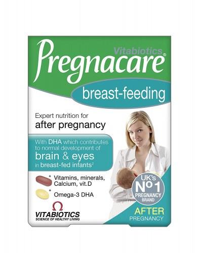 Vitamin Tổng Hợp Cho Phụ Nữ Sau Sinh Cho Con Bú Pregnacare Breast-Feeding Của Anh