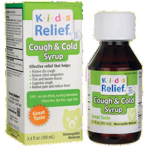 Siro trị ho và cảm lạnh Cough & Cold Syrup For Kids 100ml cho bé từ 0 đến 9 tuổi