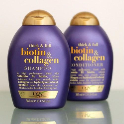 Cặp Dầu Gội, Dầu Xả Biotin And Collagen Cho Tóc Dài Đẹp