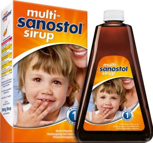 Viatmin Tổng Hợp Sanostol Số 1 Cho Trẻ 1-3 Tuổi